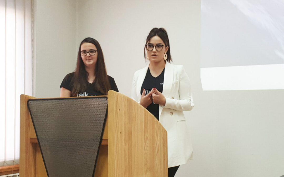 Azra Hasanovic and Jasmina Kadric: IT is not just a men's world