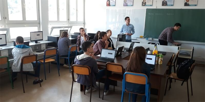 Free programming workshop Coder Dojo Gracanica with Cape Ann Enterprises and Bit Alliance